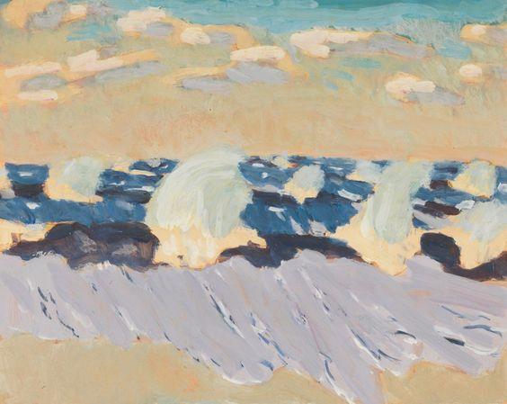 Untitled (Seascape, Ocean Waves)