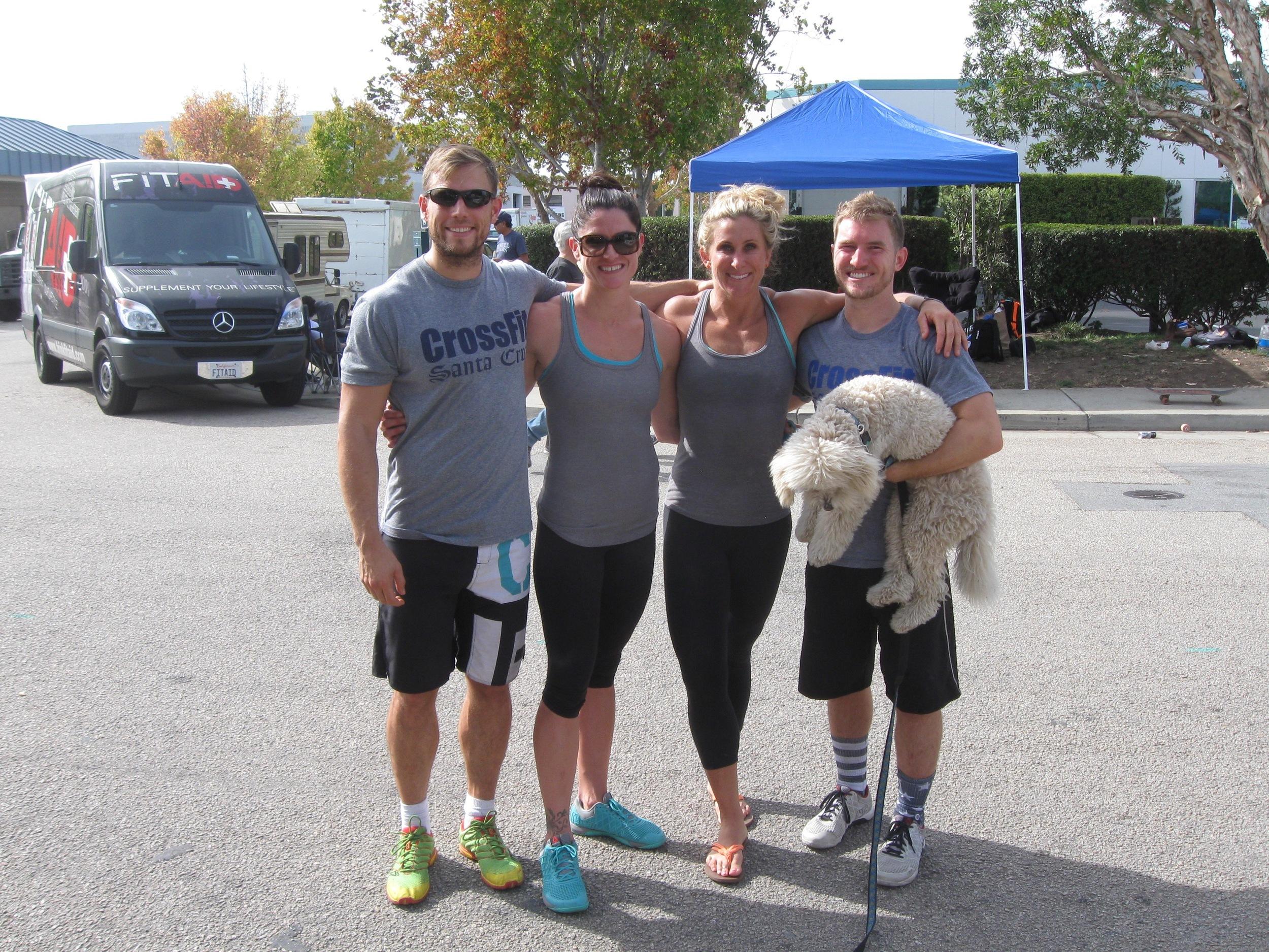Brad, Erica, Alicia, Connor and Cal  Photo courtesy of Brad Hoffeld