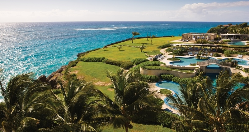Cliff-top Pools at The Crane Resort