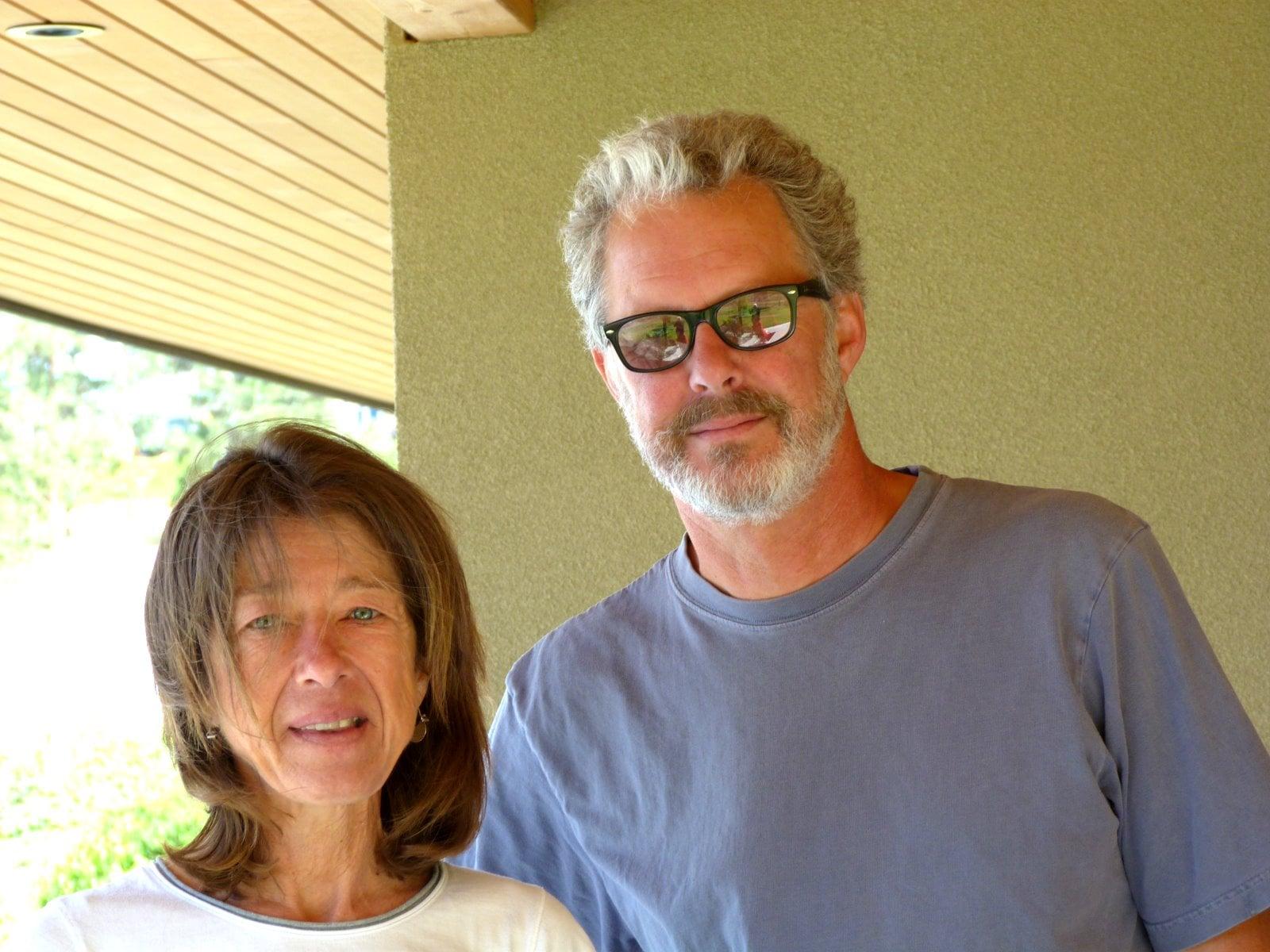 Senka and Bob Tennant