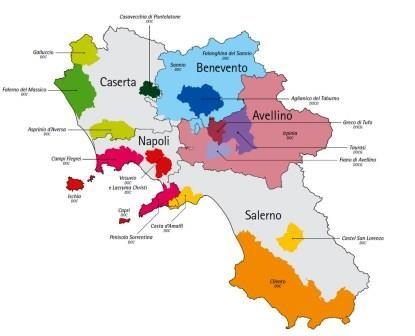 Campania Wine Regions