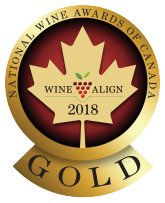 GOLD MEDAL - National Wine Awards of Canada 2018