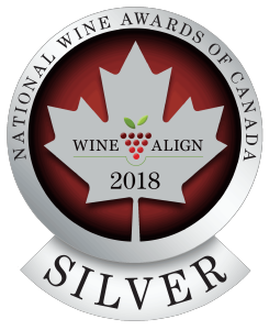 SILVER MEDAL - National Wine Awards of Canada 2018