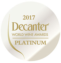 PLATINUM: BEST BARBERA - 2017 Decanter World Wine Awards