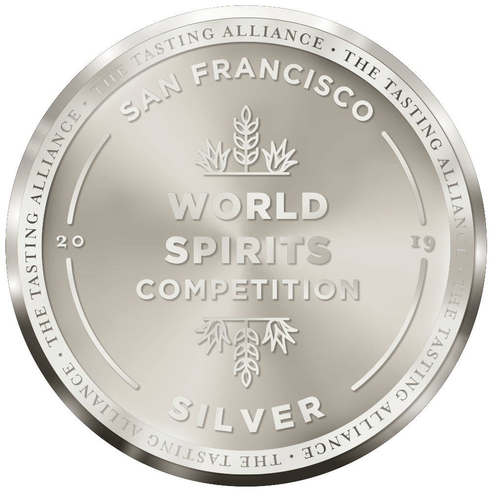 SILVER MEDAL - San Francisco World Spirits Competition, 2019