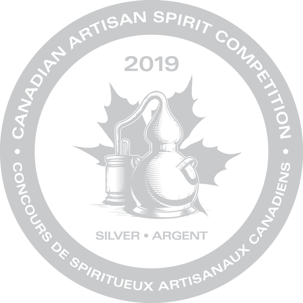 SILVER - Canadian Artisan Spirit Competition, 2019