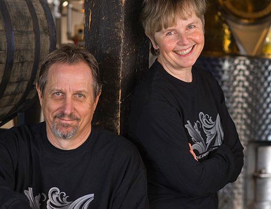 Lynn and Pierre