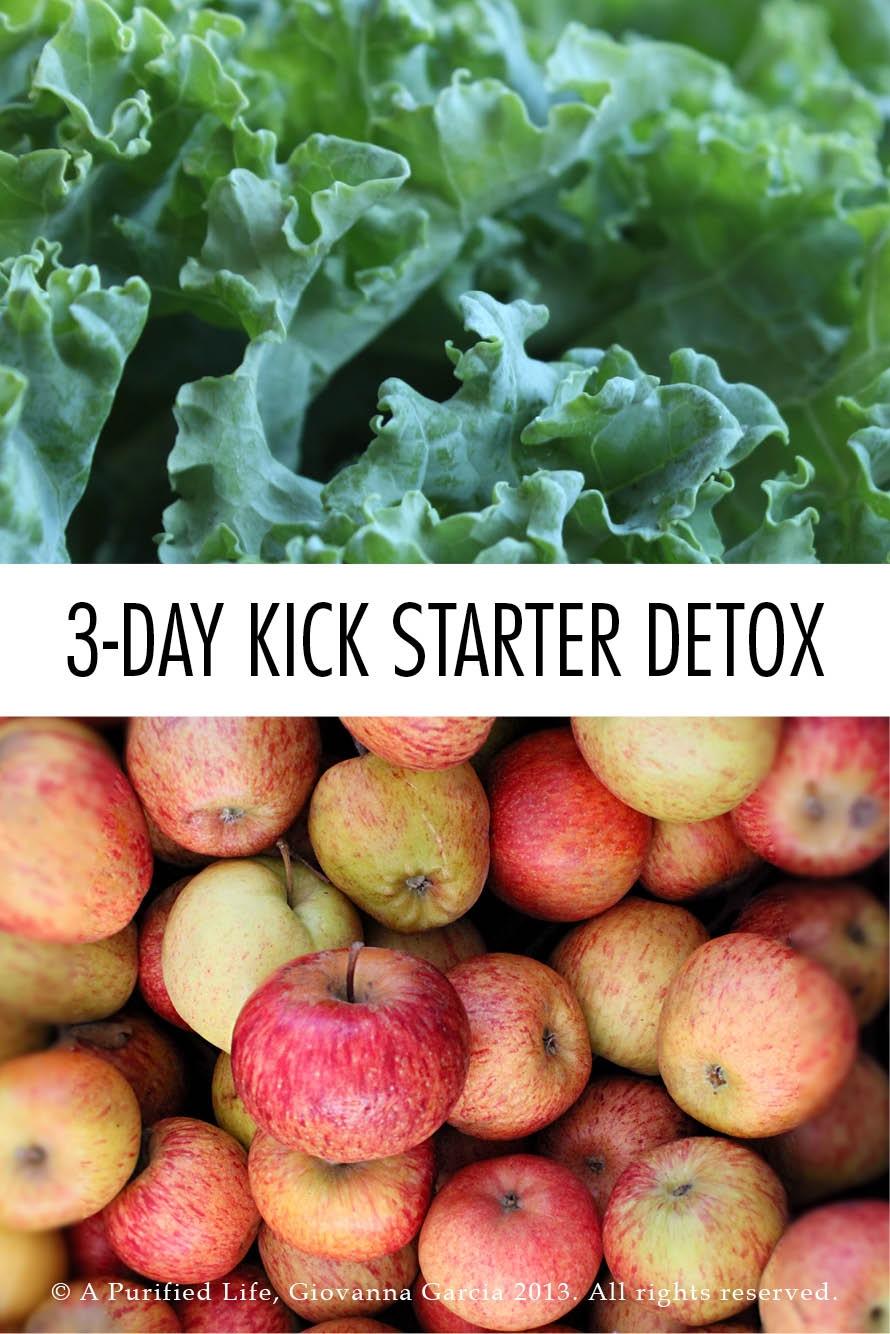 3 Day Kick Starter Detox