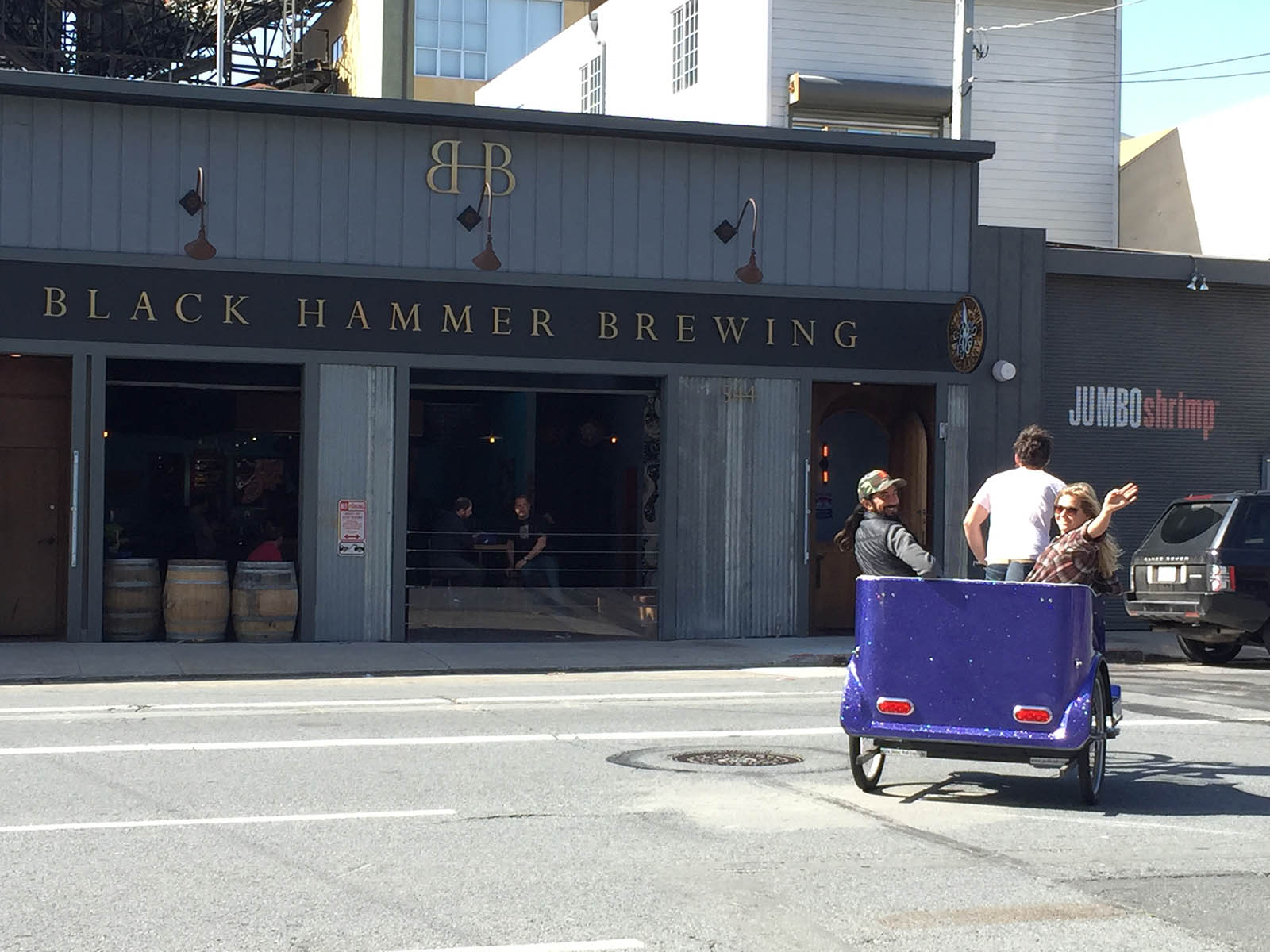 SF Brew Ride | Tour San Francisco's finest breweries in a portable couch