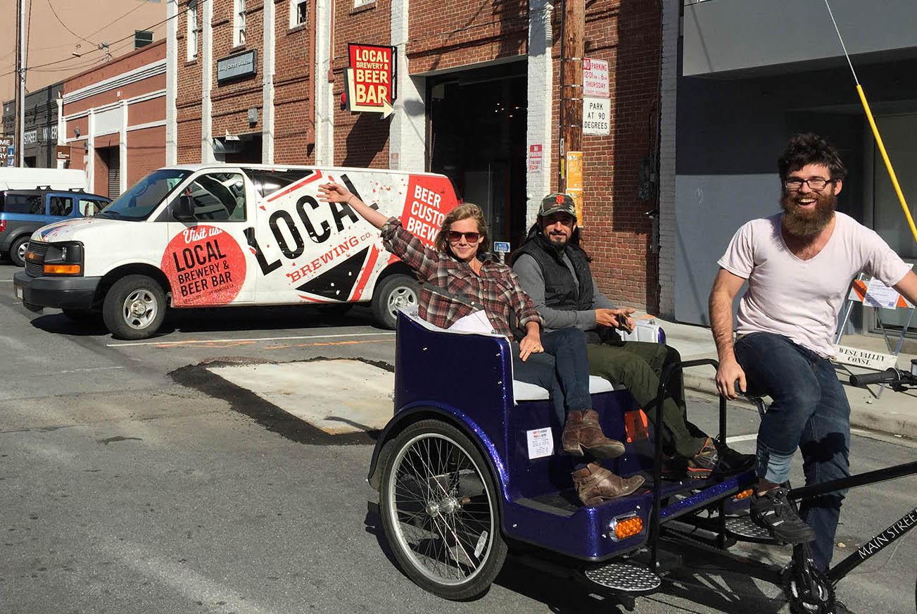 San Francisco Pedicab | SF Brew Ride
