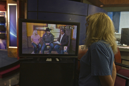 Tom and Mandy were featured on Good Morning Tulsa during the show!