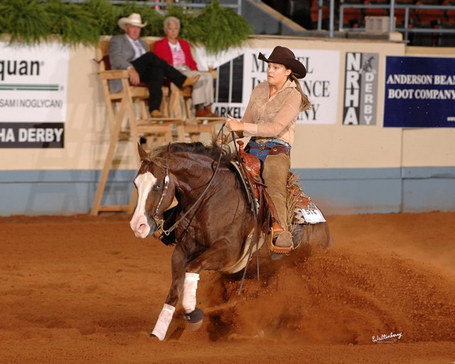 Dont Miss This Gun    NRHA Non Pro Futurity and NRHA Limited Non-Pro Derby Top Ten, Scottsdale Classic Non Pro Futurity Champion, 3rd, NCRHA Non Pro Futurity; 2011 finalist in the NRHA Non-Pro Derby E  arner of    $23,997+