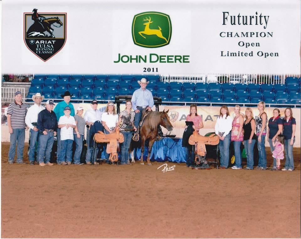 Nicastar Lite earner of$27,271.89+; 2011 Tulsa Reining Classic Int. Open & Ltd. Open Futurity Champion; NRHA Open Futurity Finalist