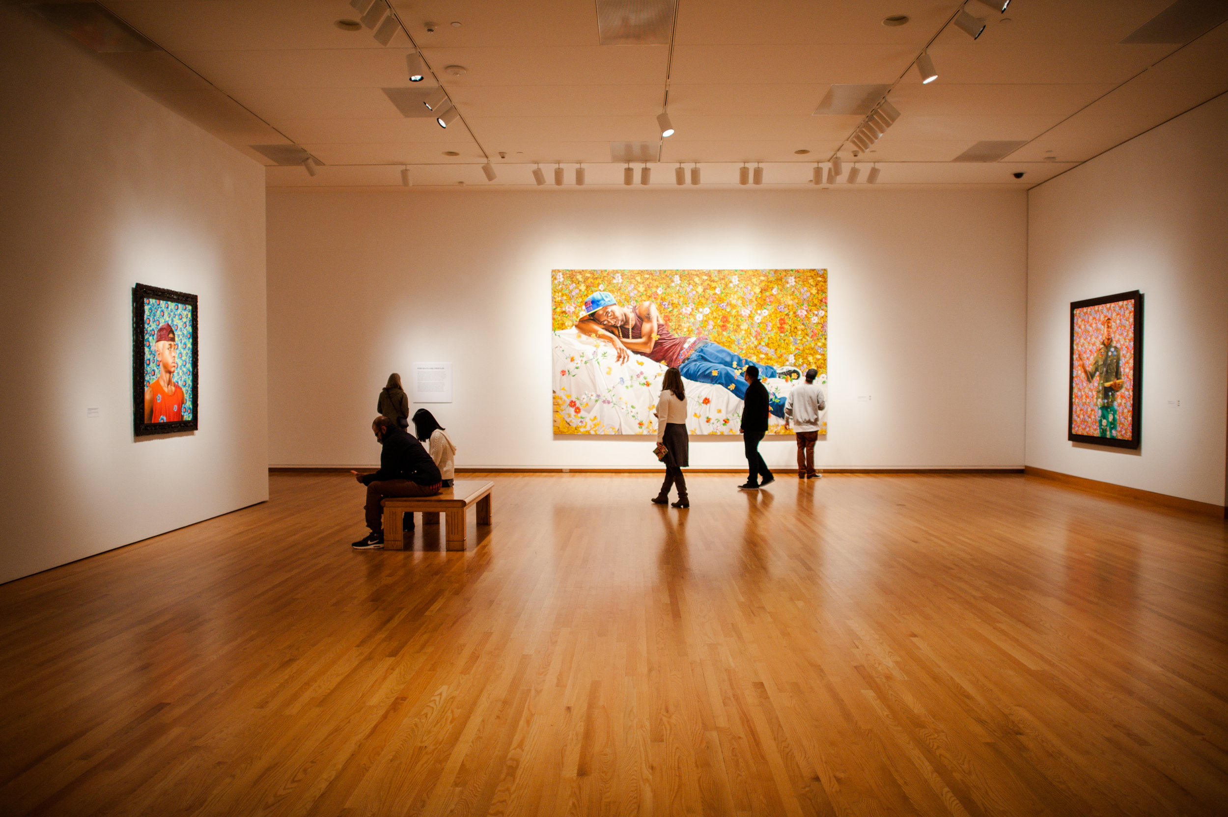 Kehinde Whiley @ Seattle Art Museum