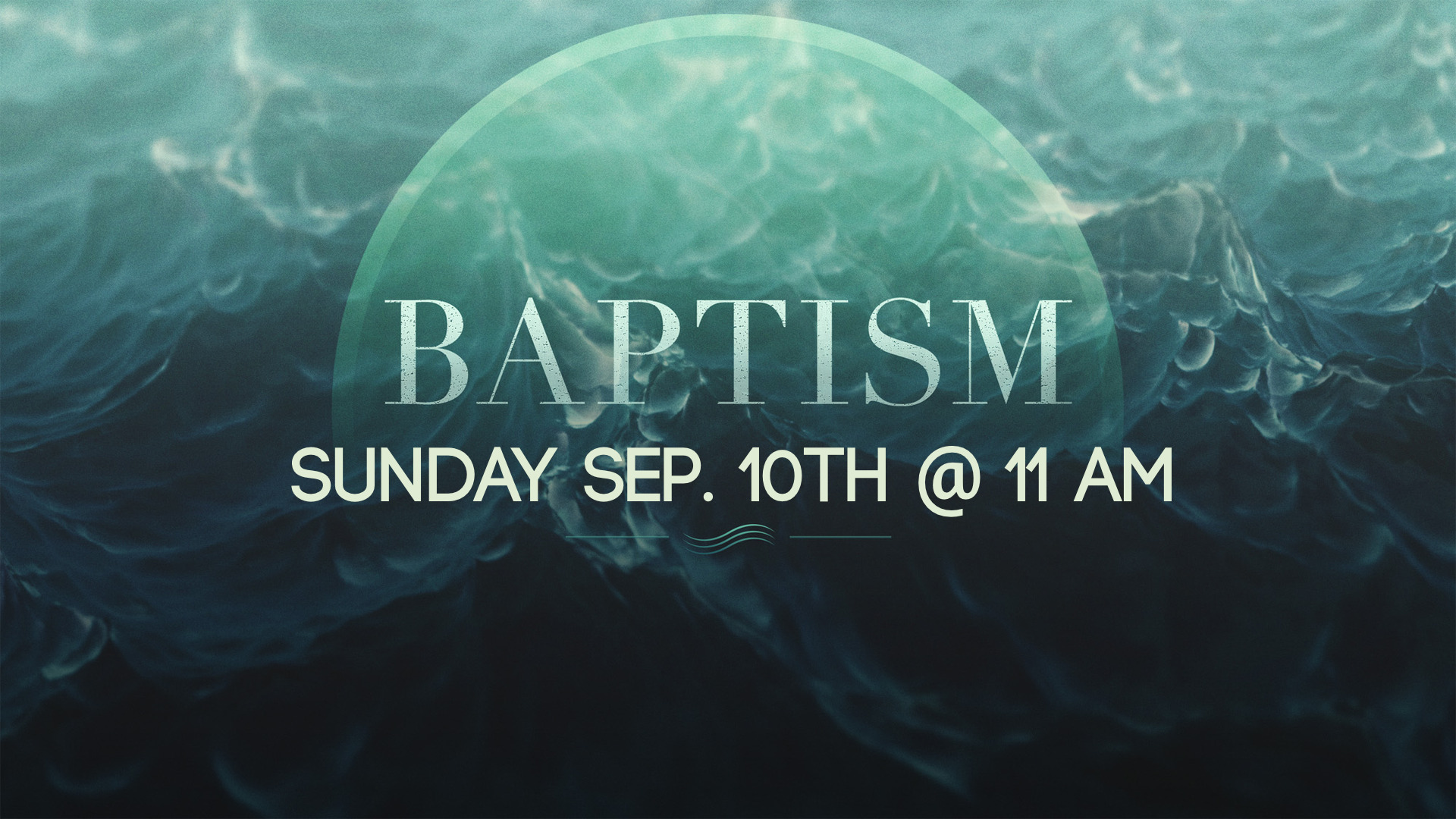 Contact any staff member and let them know you want to take the next step in obedience by being baptized.