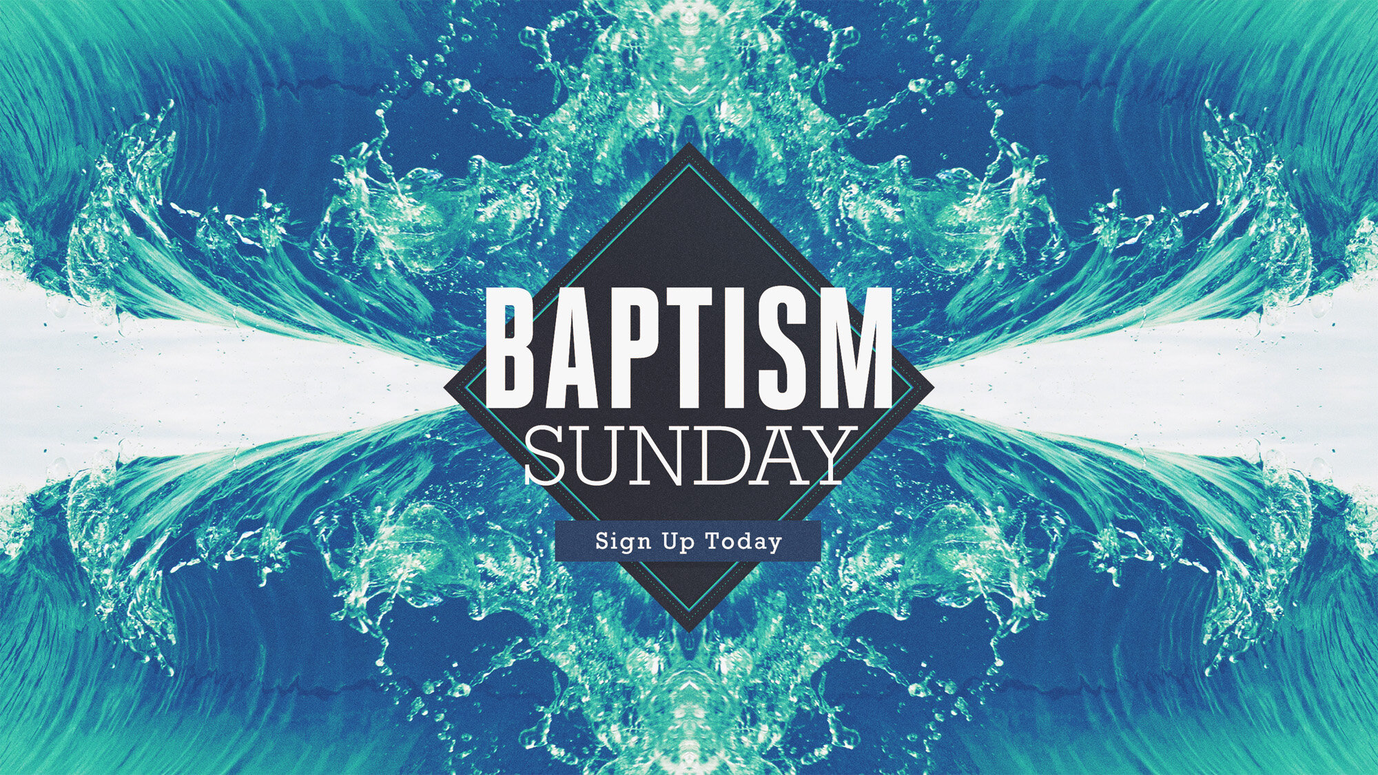 """Text """"baptism"""" to 68878 to register…"""