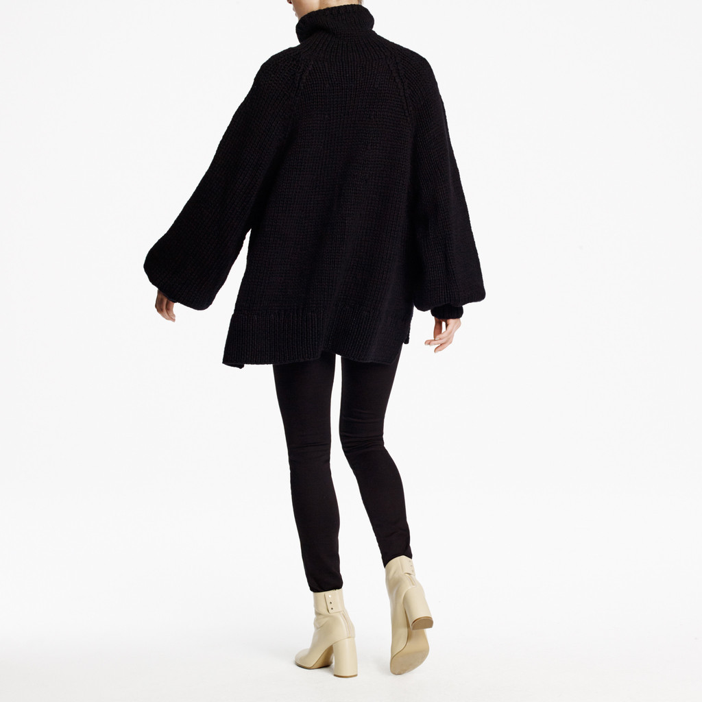 SPENCER VLADIMIR PUFF SLEEVE SWEATER back.jpg