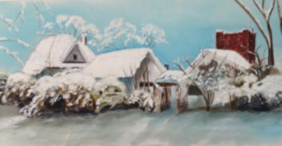 137 W. Works St. by Christy Ann Watenpaugh  (One of Grandma's childhood homes)