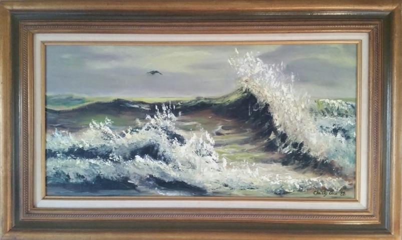 Seascape by Christy Ann Watenpaugh