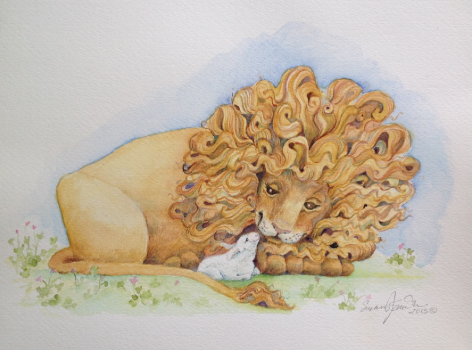 March  in watercolor by Susan Smith