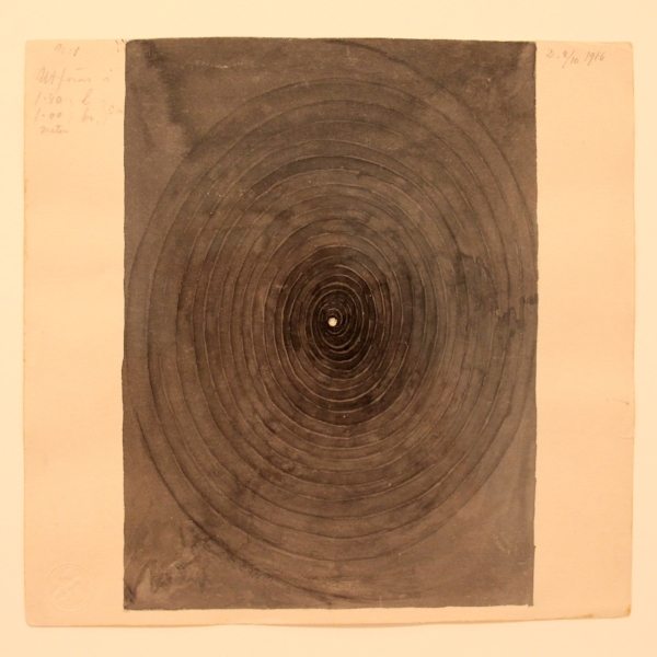 from the  Parcifal  series by Hilma af Klint, 1916
