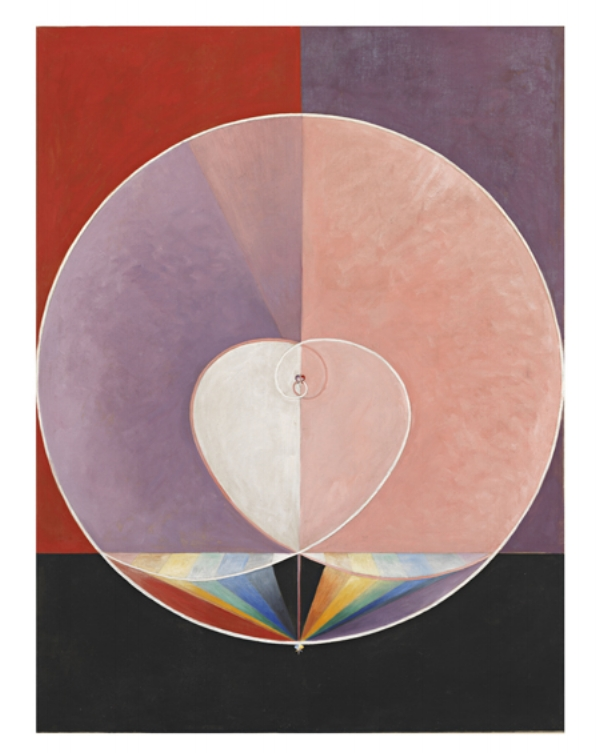 from  The Dove  series by Hilma af Klint, 1915