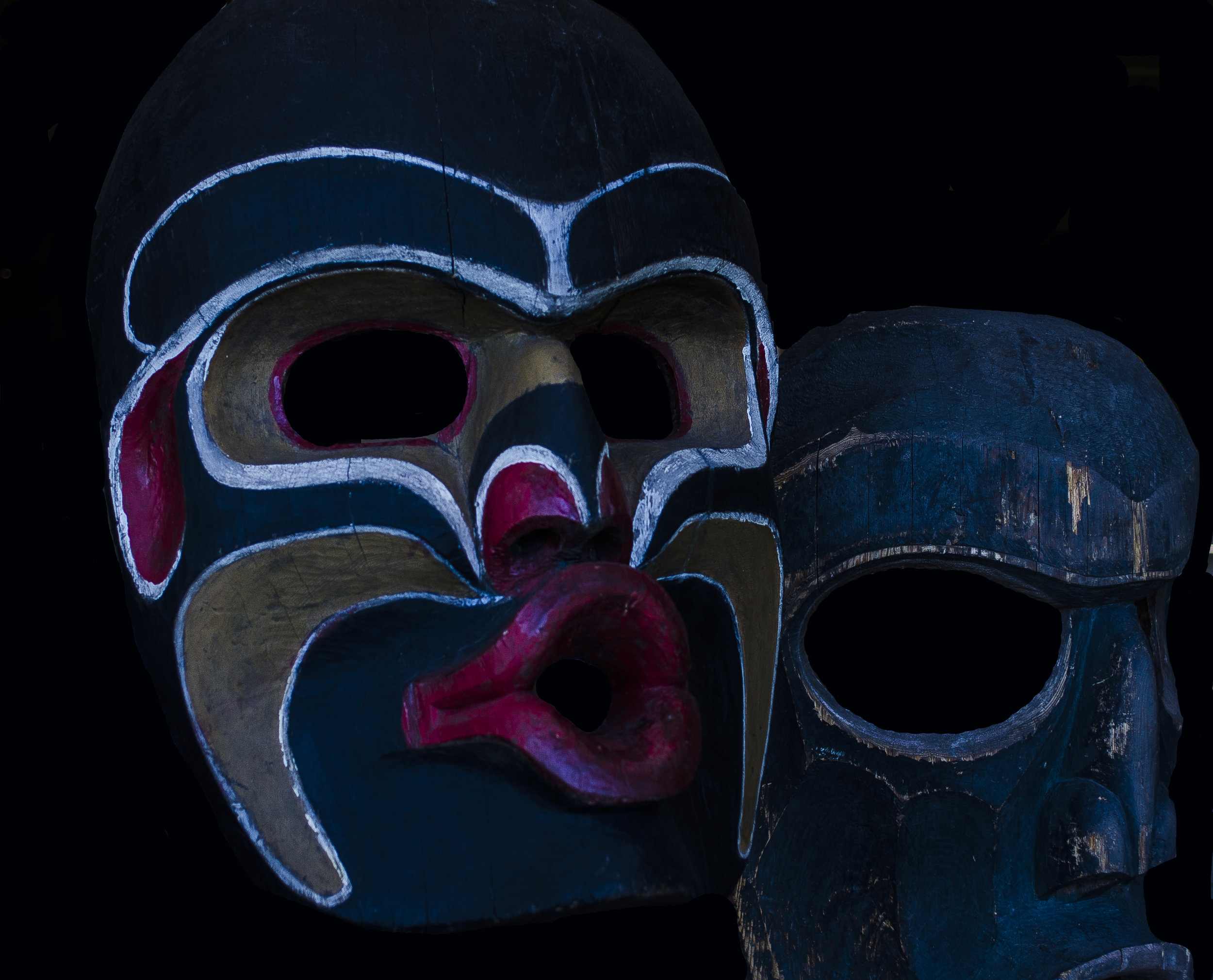 Northwest Coast Native Masks