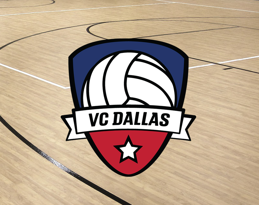 Volleyball Club Dallas Branding