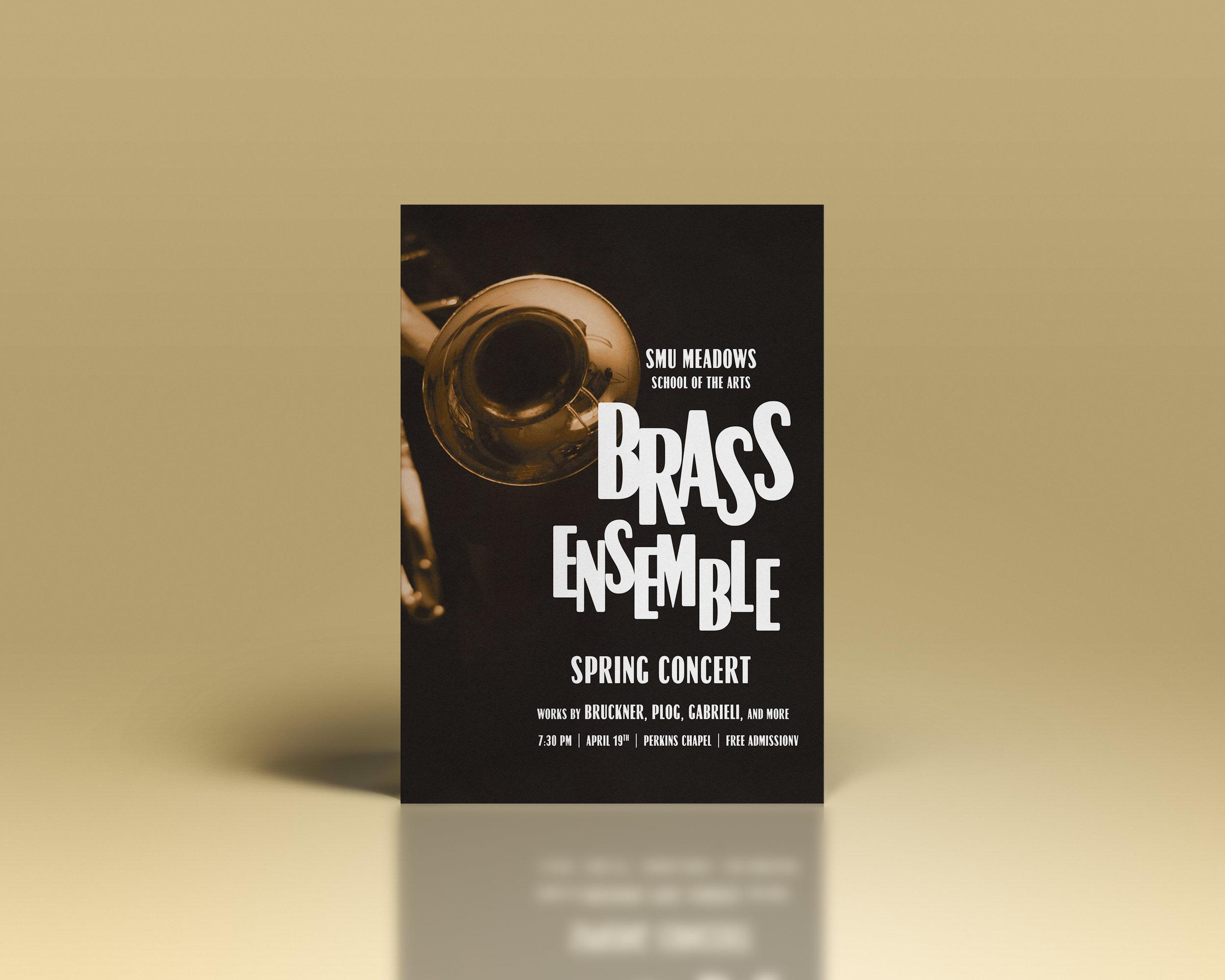 Brass Ensemble Spring Concert