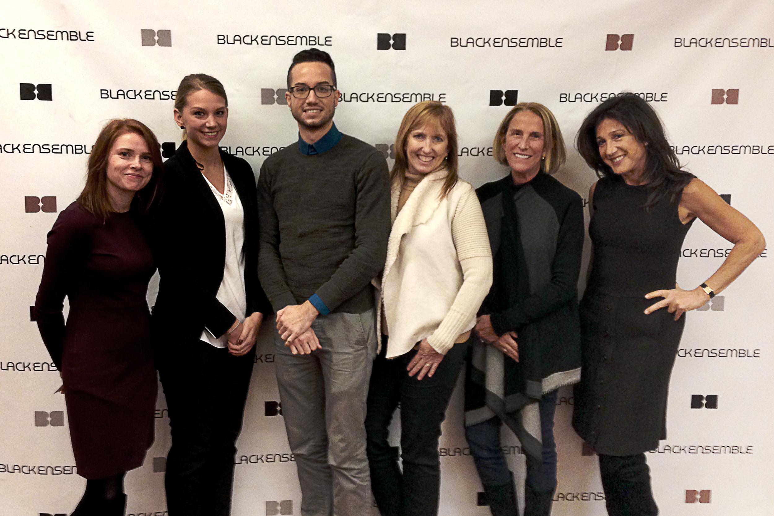 From left: Inga Dainius, Victoria Young, Nic Gabriel, Debra Justice, Leslie Jones and Marlene Iglitzen