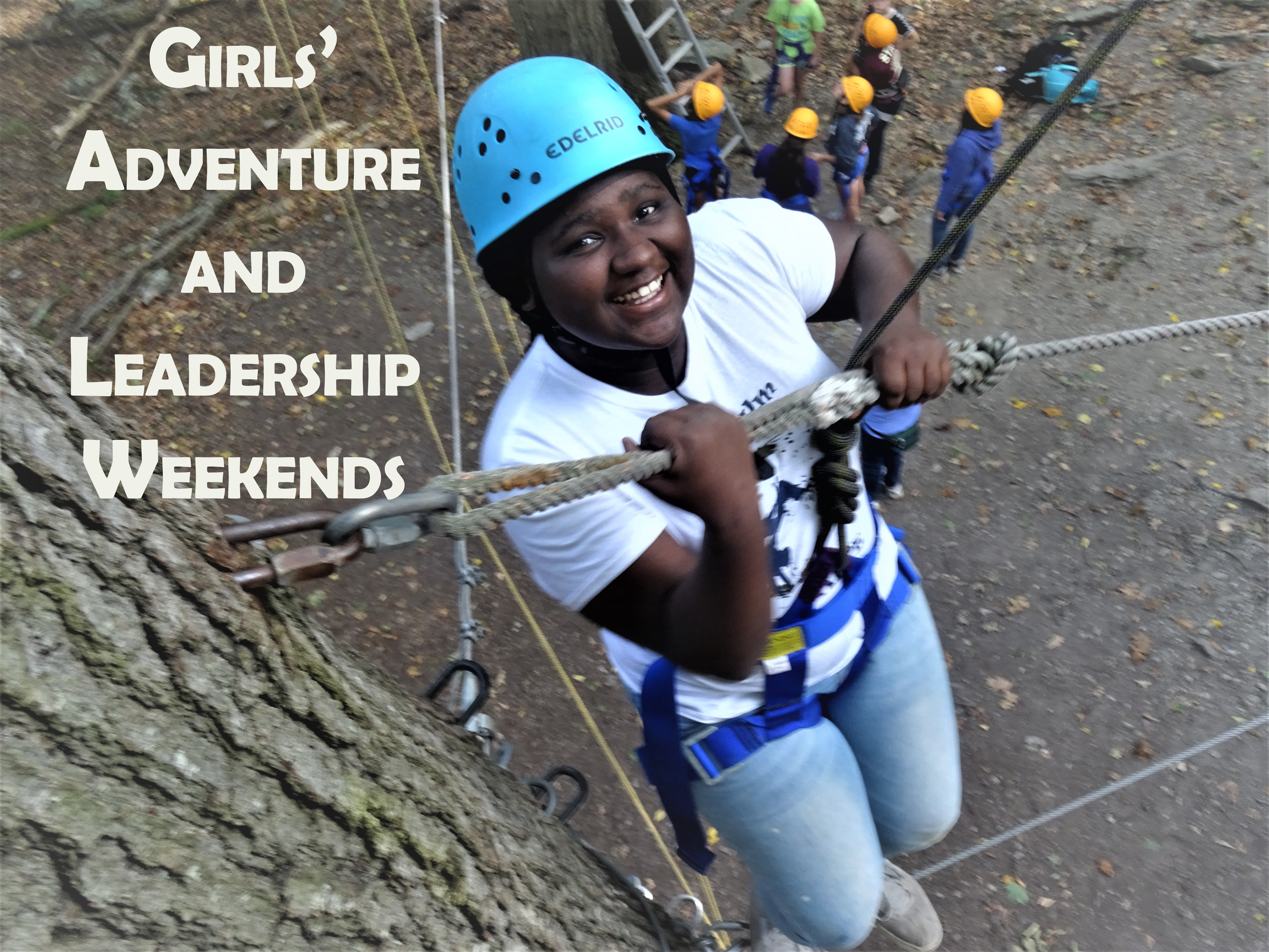 Click here for more Information on Girls' Leadership Weekends!