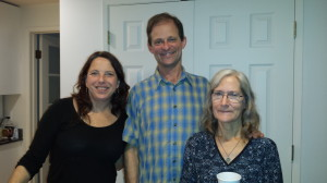 Host Kathleen Rauch '86 & '87 with Geof Corriveau '81 and Mary Corriveau