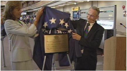 2011 Calgary Airport Memorial Plaque - Calgary, AB