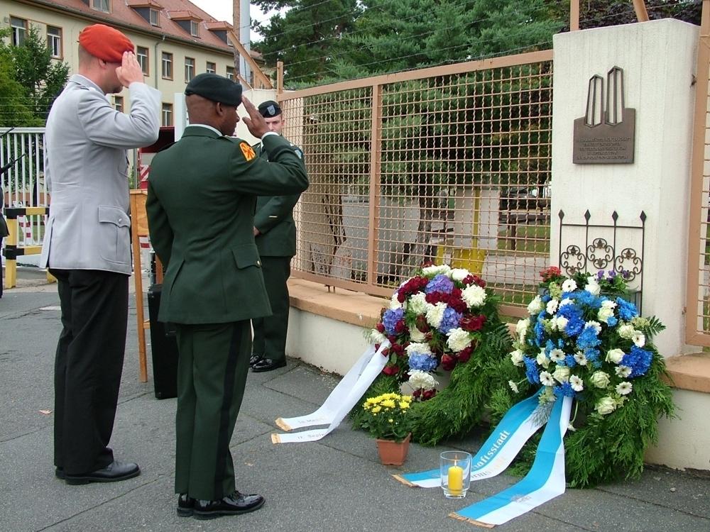 Kelley Barracks 9/11 Plaque - Darmstadt, Hesse