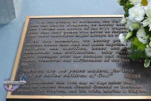 Bermuda 9/11 Memorial - Camden, Paget Parish
