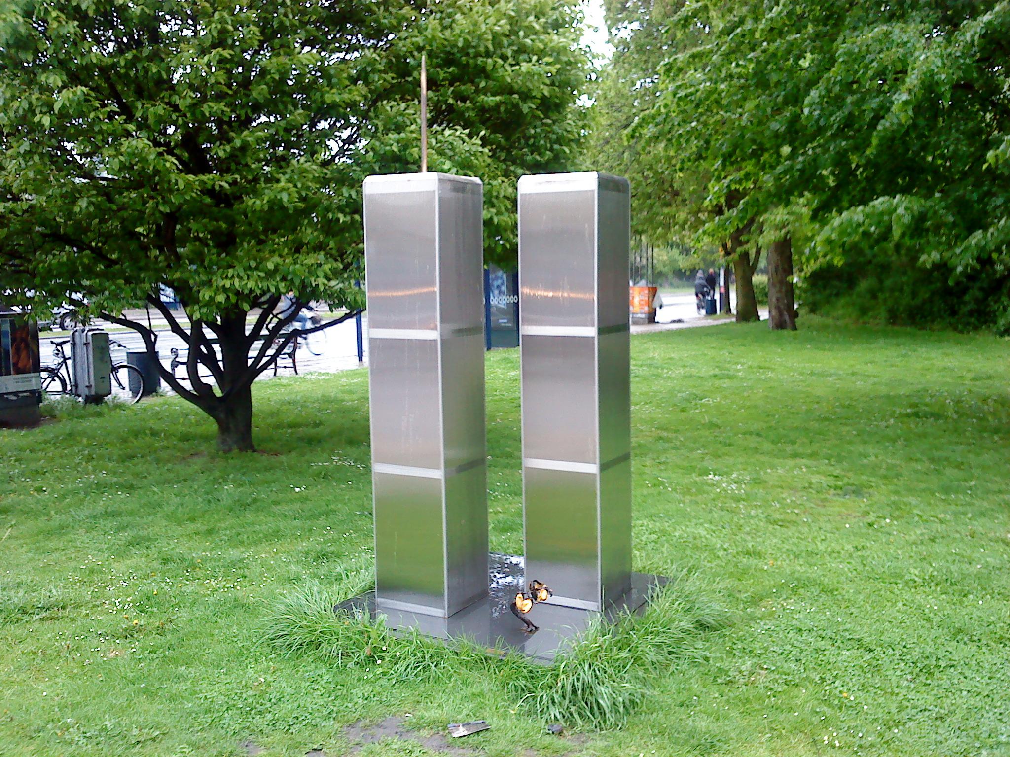 Copenhagen Twin Towers Monument- Copenhagen, Denmark