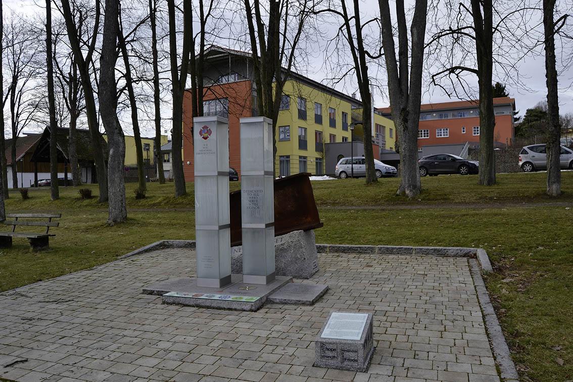 Oberviechtach 9/11 Memorial - Oberviechtach, Bavaria, Germany
