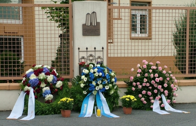 Kelley Barracks 9/11 Plaque - Darmstadt, Hesse, Germany