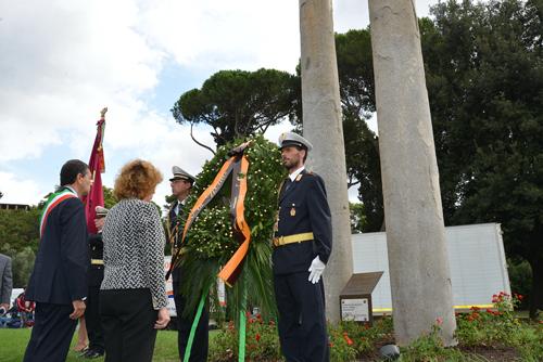Twin Towers Monument - Rome, Lazio, Italy