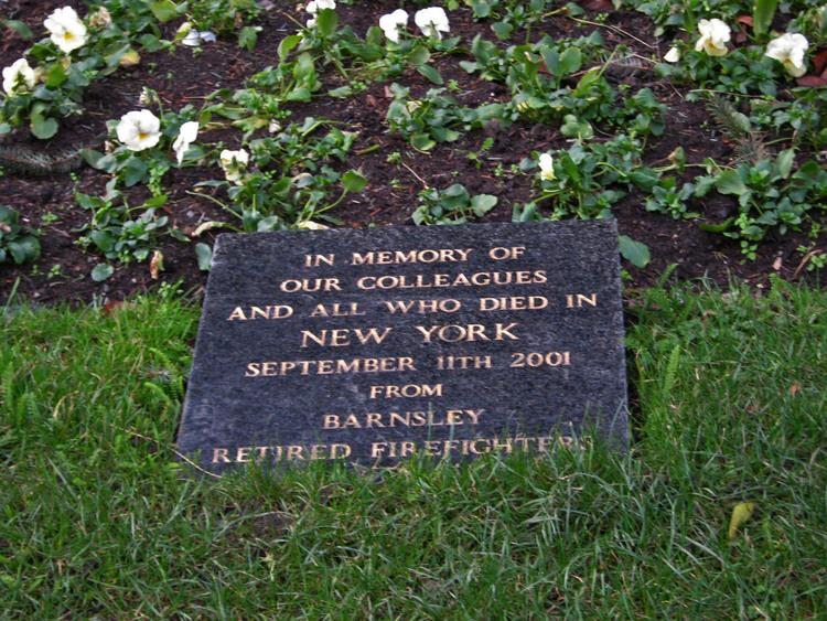 Barnsley 9/11 Memorial Stone - Barnsley, England, United Kingdom