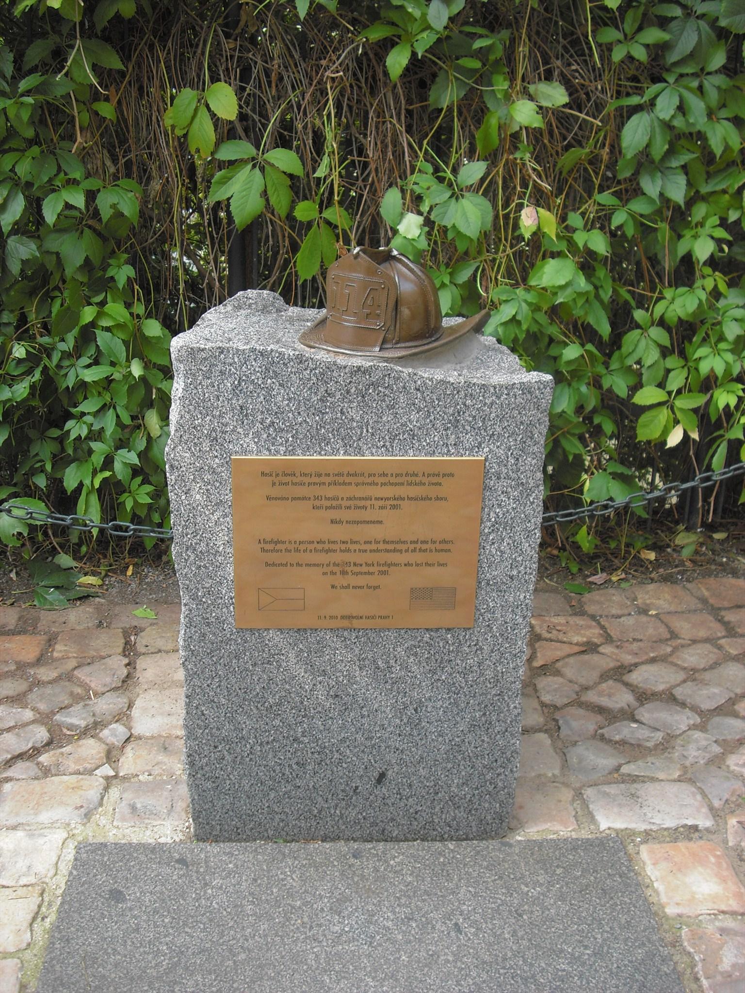 Prague Firefighters' Memorial - Prague, Czech Republic