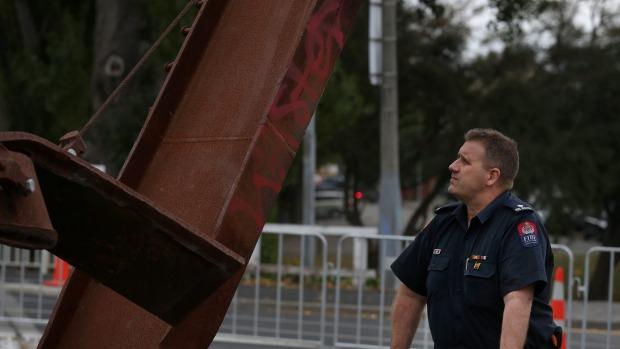 Christchurch Firefighters Memorial - Christchurch, New Zealand