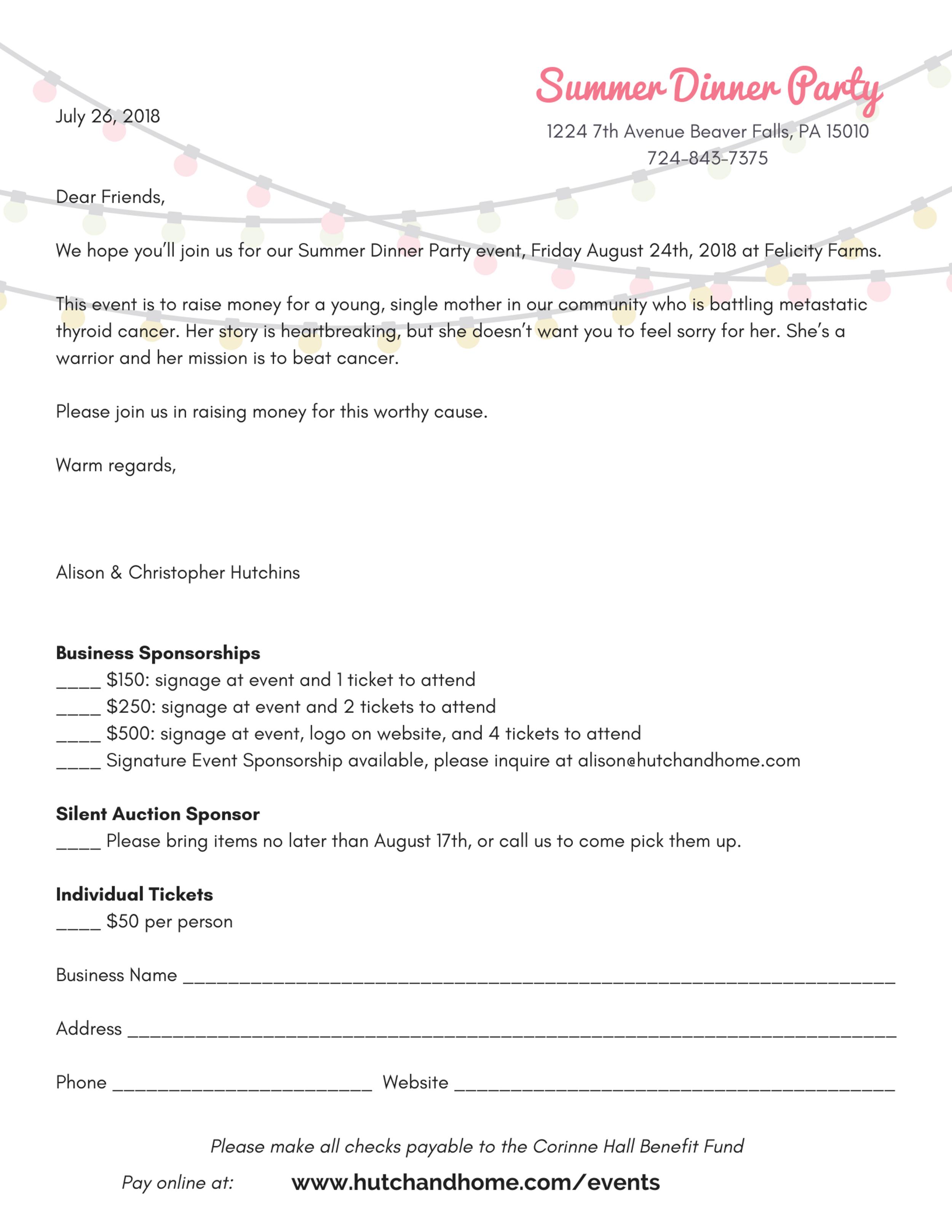 Summer Dinner Party Felicity Farms 2018 Sponsorship letter.png