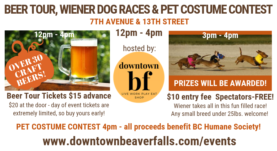 Wiener takes all in the first annual running of this race! Any small breed under 25lbs. welcome! Prizes will be awarded! $10 per dog entry fee Spectators are FREE!.png