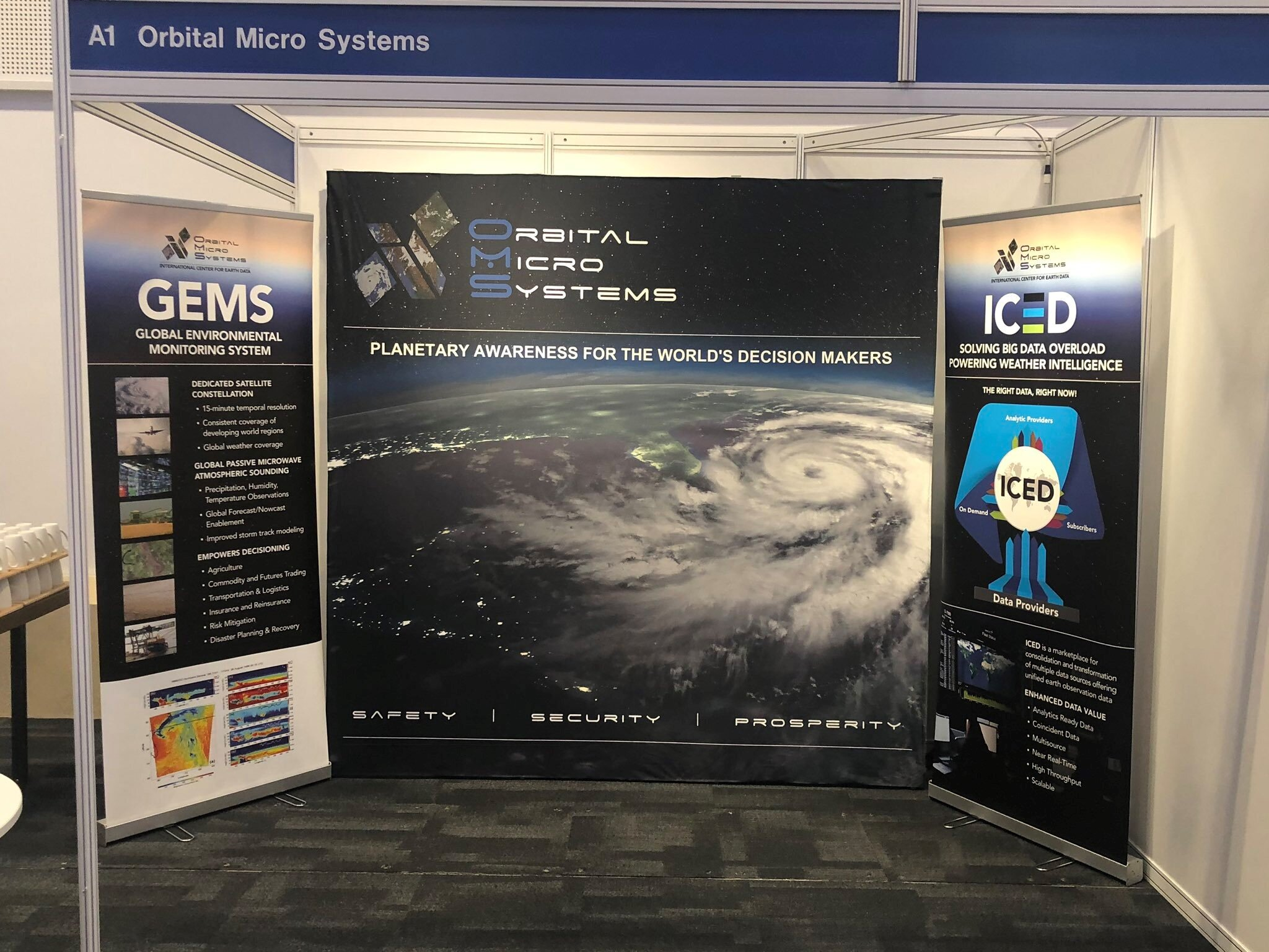 OMS attends UK Space Conference 2019
