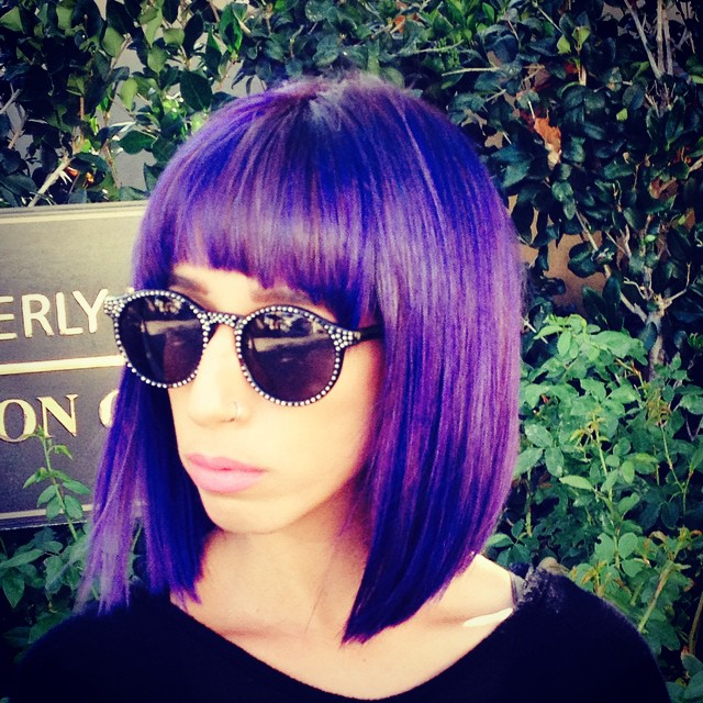 My #Grape Crush #creation. Having fun with Purple!