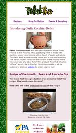 September 2016: Introducing Garlic Zucchini Relish | Video DIY recipe