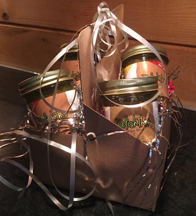 zucchini relish gift basket - RelishThisPA