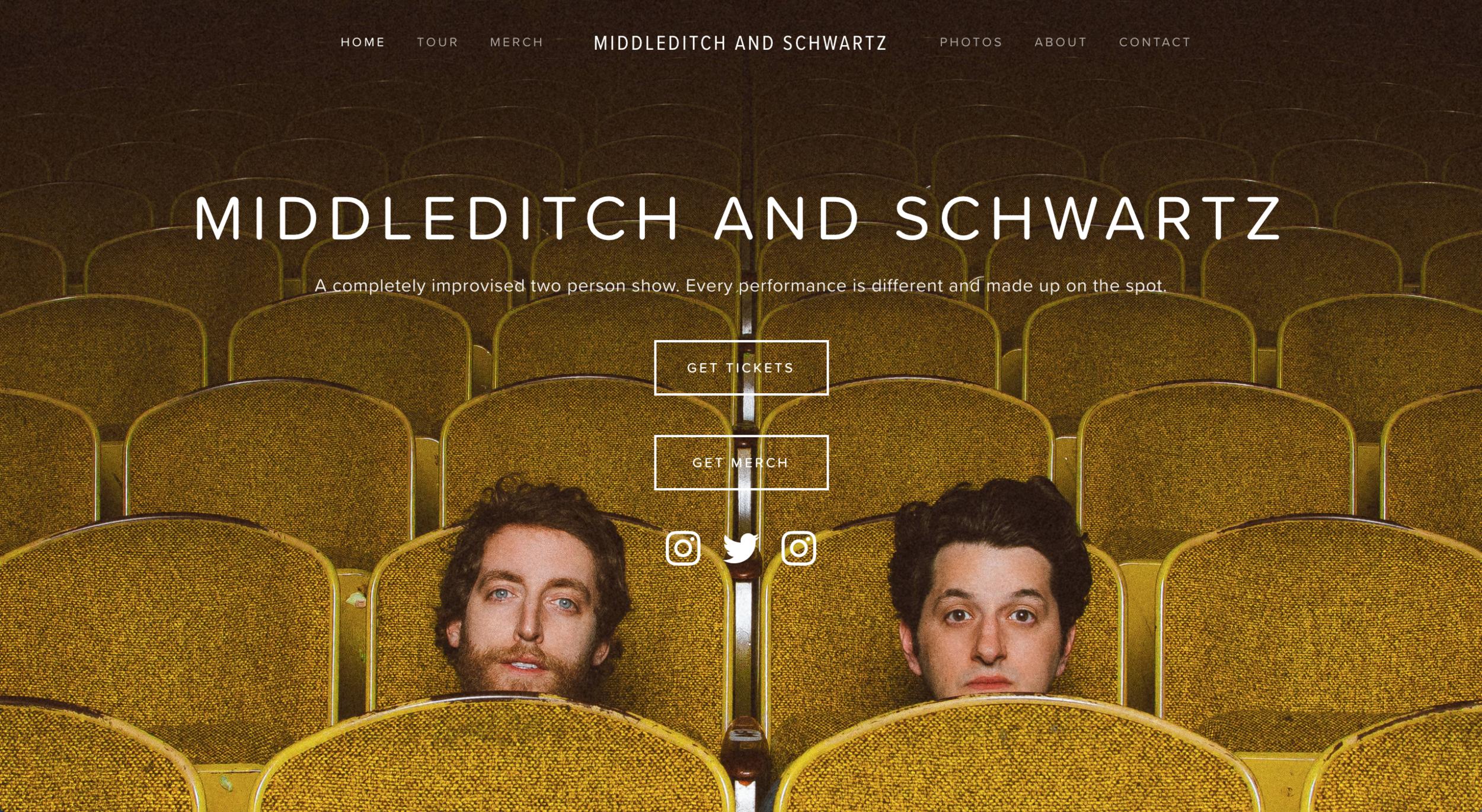 WEB DESIGN -    MIDDLEDITCHANDSCHWARTZ.COM