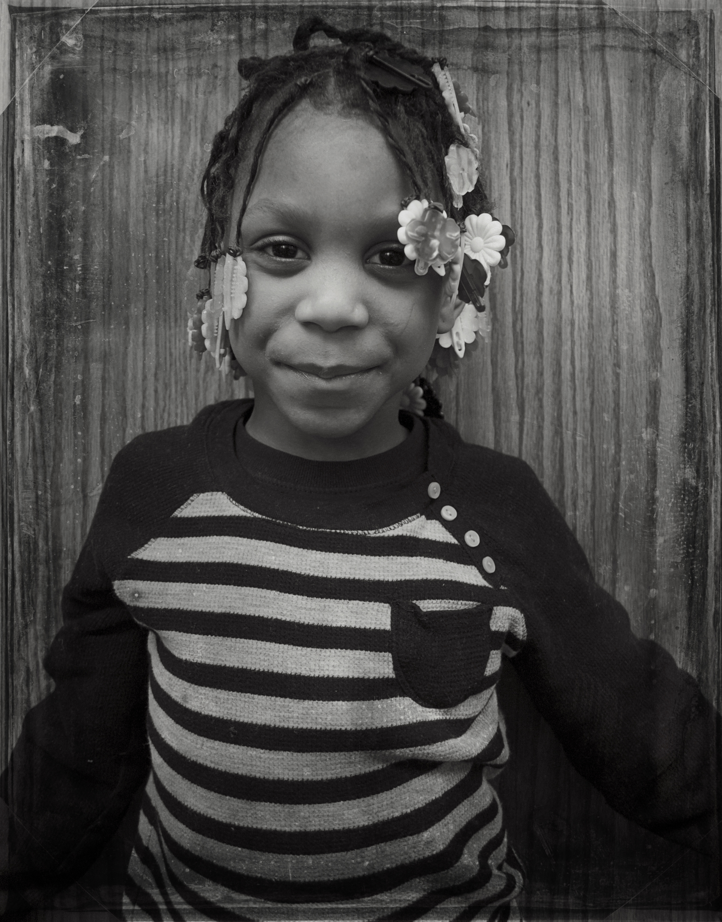 PORTRAITS | Girl in Stripes, Chicago